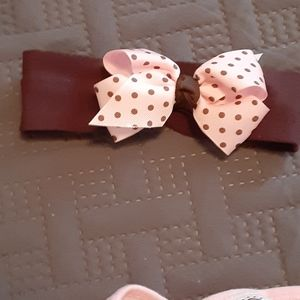 Little Lass Matching Sets - Pink and brown outfit